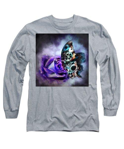 Steel Butterfly Long Sleeve T-Shirt