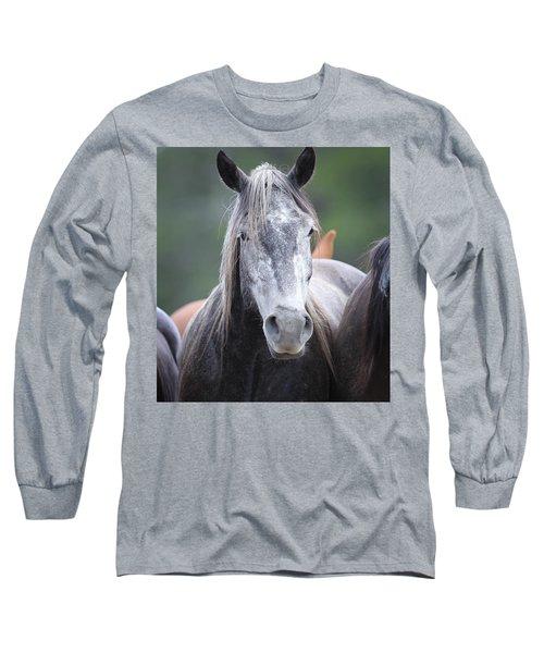 Steel Grey Long Sleeve T-Shirt