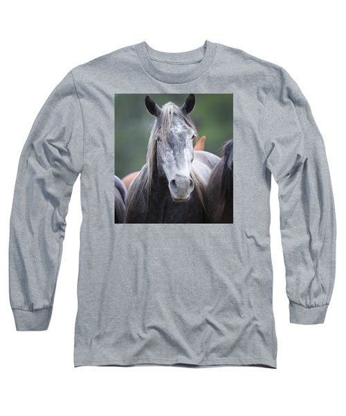 Steel Grey Long Sleeve T-Shirt