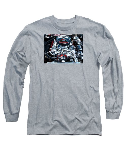 Long Sleeve T-Shirt featuring the photograph Steel Heartbeat by Rebecca Davis