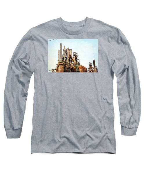 Steel Stack Blast Furnaces Long Sleeve T-Shirt
