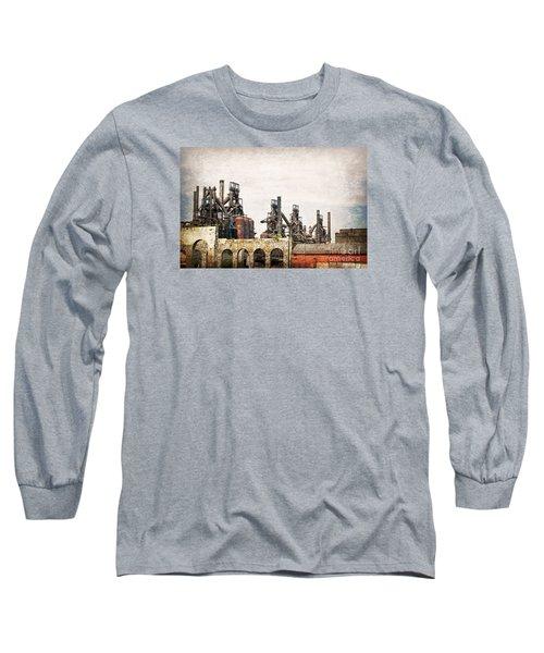 Steel Stacks  Long Sleeve T-Shirt