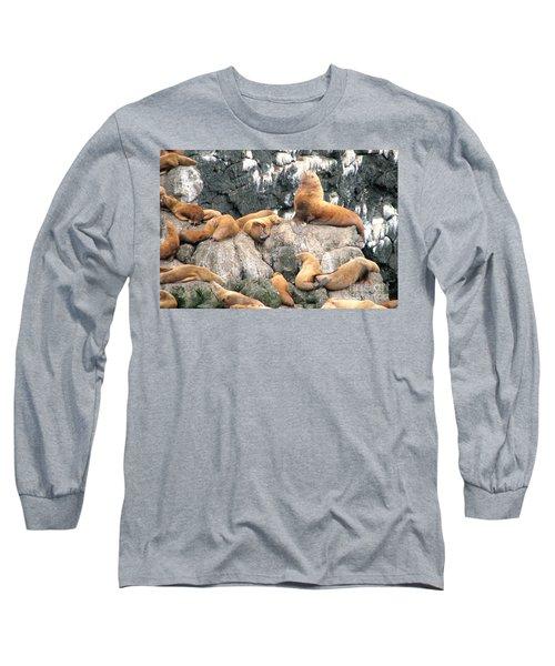 Steller Bull With Harem Long Sleeve T-Shirt