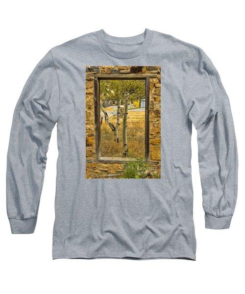Step Through Long Sleeve T-Shirt by Steven Parker