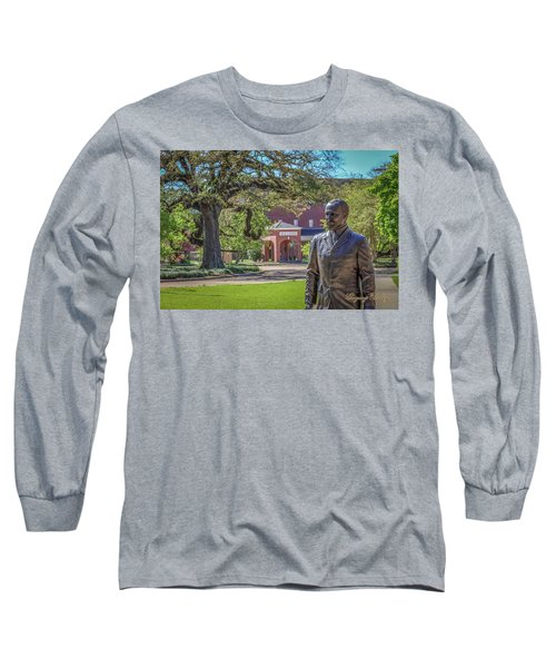 Stephens, Oaks And Walk Of Honor Long Sleeve T-Shirt by Gregory Daley  PPSA