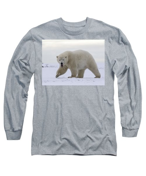 Stepping Out In The Arctic Long Sleeve T-Shirt