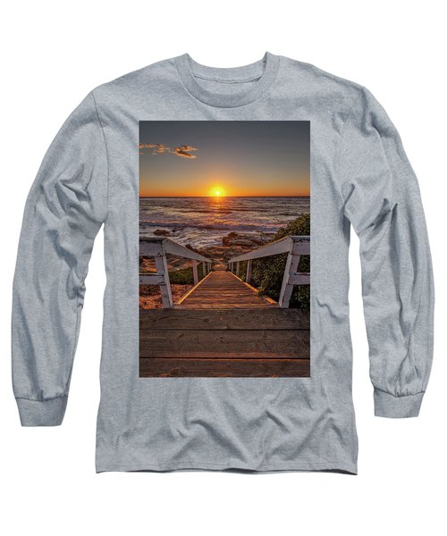 Steps To The Sun  Long Sleeve T-Shirt