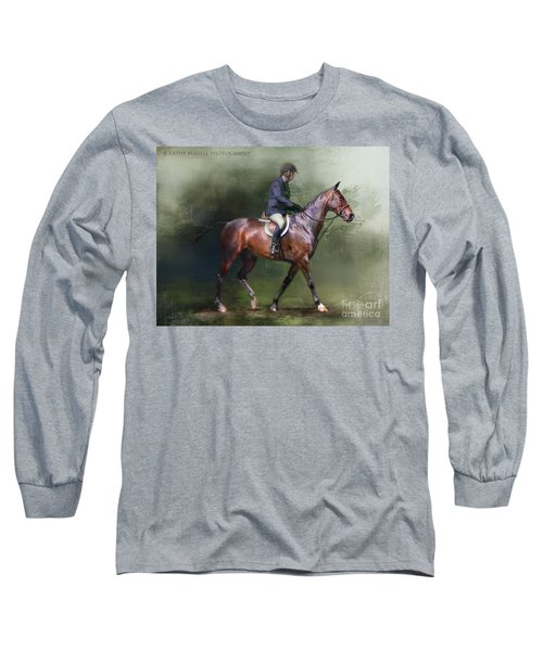 Still Learning Long Sleeve T-Shirt by Kathy Russell