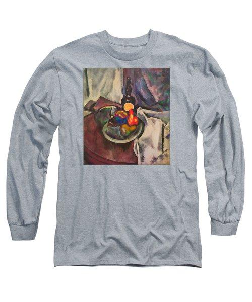 Still Life. Homage To A.v. Kuprin Long Sleeve T-Shirt by Vladimir Kholostykh