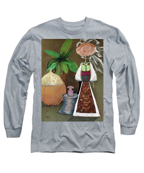 Still Life With Countru Girl Long Sleeve T-Shirt