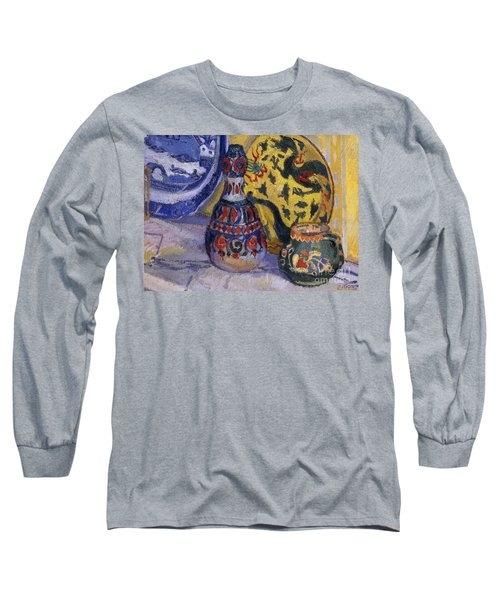Still Life With Oriental Figures, 1913  Long Sleeve T-Shirt