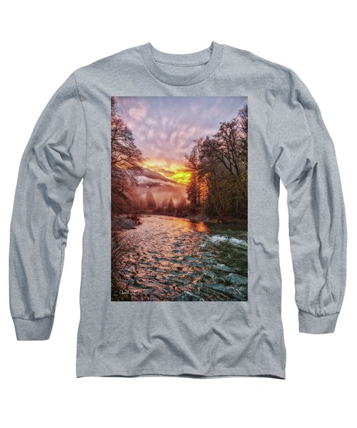 Stilly Sunset Long Sleeve T-Shirt