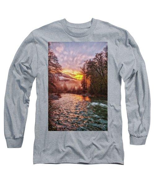 Stilly Sunset Long Sleeve T-Shirt