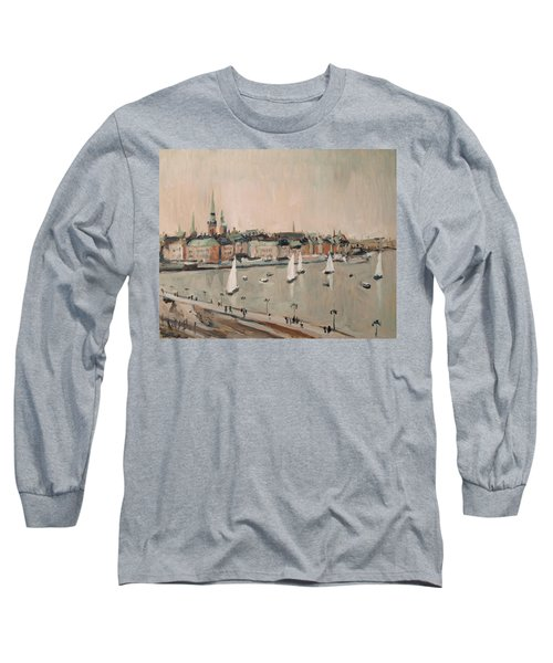 Stockholm Regatta Long Sleeve T-Shirt by Nop Briex
