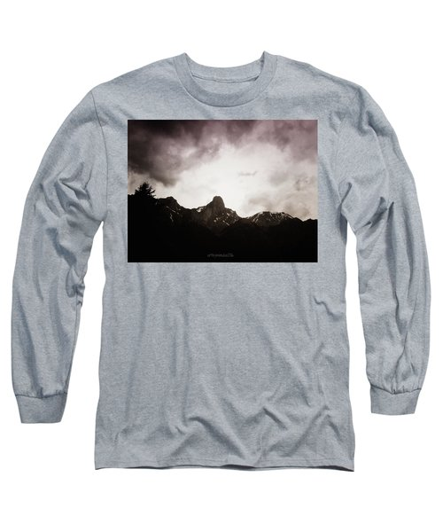 Long Sleeve T-Shirt featuring the photograph Stockhorn by Mimulux patricia no No