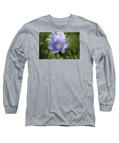 Long Sleeve T-Shirt featuring the photograph Stokes Aster 20120703_125a by Tina Hopkins