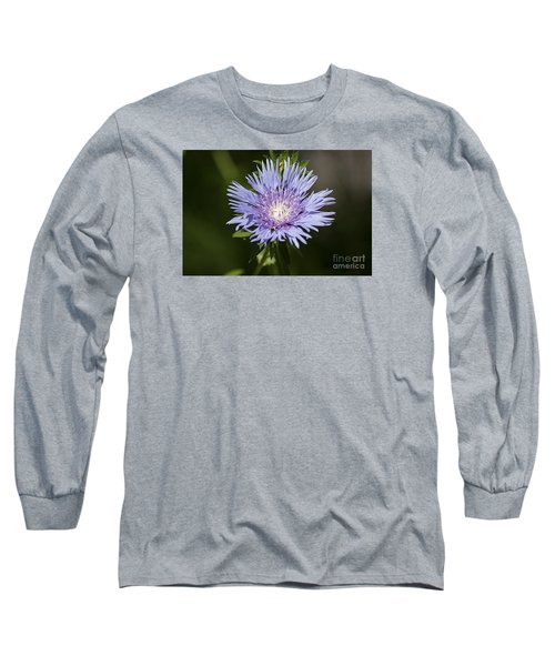 Long Sleeve T-Shirt featuring the photograph Stokes Aster 20120703_129a by Tina Hopkins
