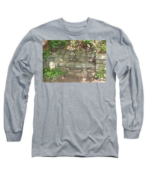 Stone Bench Long Sleeve T-Shirt