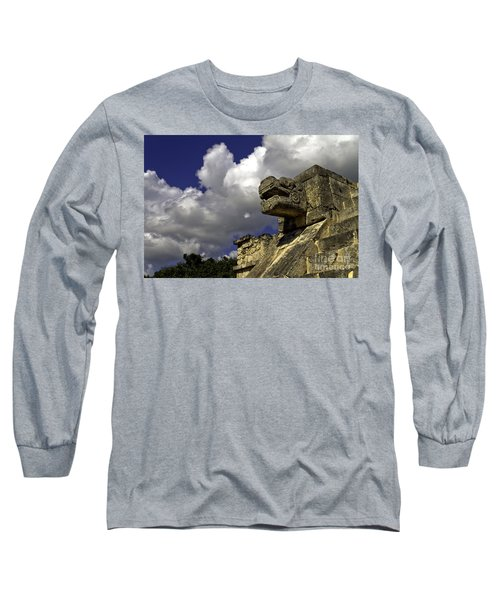 Stone Sky And Clouds Long Sleeve T-Shirt