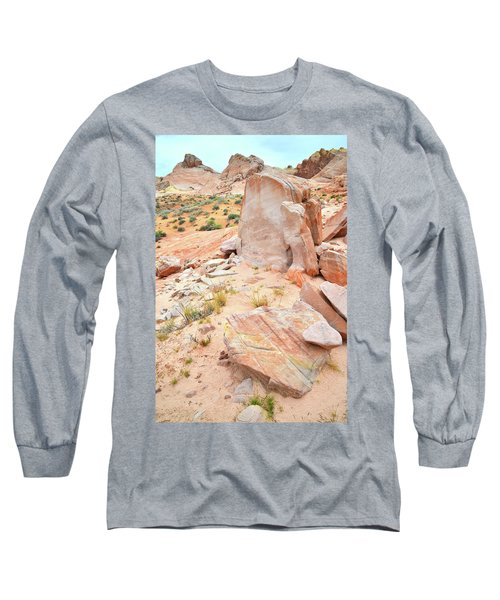 Long Sleeve T-Shirt featuring the photograph Stone Tablet In Valley Of Fire by Ray Mathis