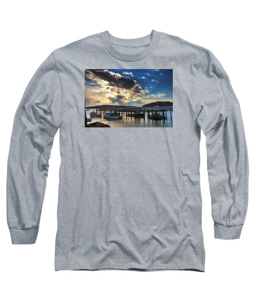 Stonington Lobster Boats Long Sleeve T-Shirt