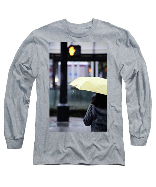 Stop To Thoughts  Long Sleeve T-Shirt by Empty Wall