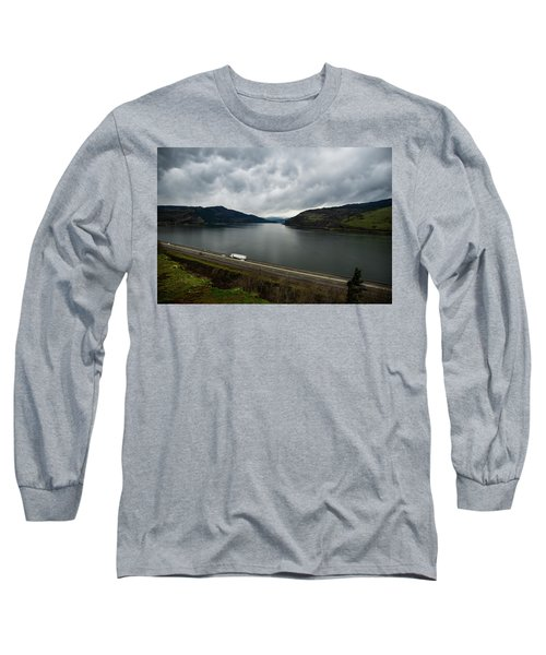 Storm Brewing On The Columbia Long Sleeve T-Shirt