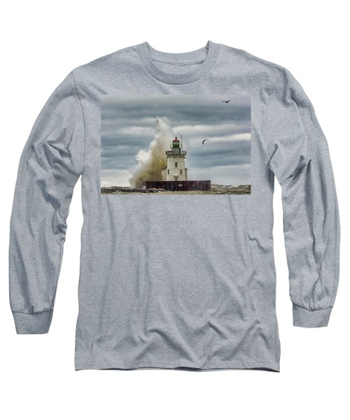 Storm On Lake Erie Long Sleeve T-Shirt
