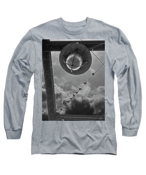 Storm Over The Bridge Long Sleeve T-Shirt
