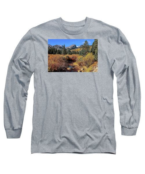 Storm Pass Trail Long Sleeve T-Shirt by Perspective Imagery