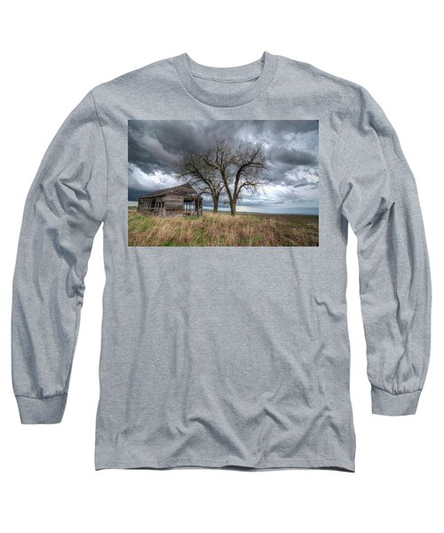 Storm Sky Barn Long Sleeve T-Shirt