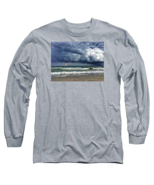 Stormy Ocean Long Sleeve T-Shirt