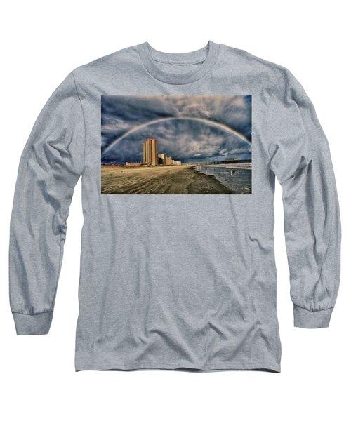Stormy Rainbow Long Sleeve T-Shirt