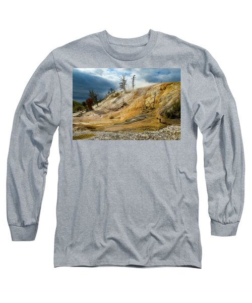 Stormy Skies At Mammoth Long Sleeve T-Shirt