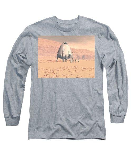Stormy Skies Long Sleeve T-Shirt by David Robinson