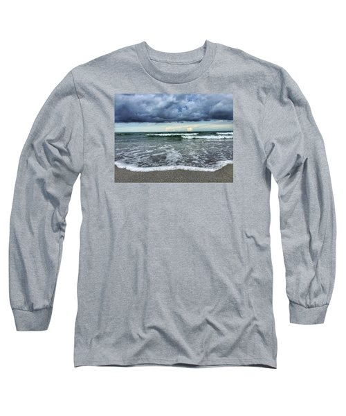 Stormy Waves Long Sleeve T-Shirt
