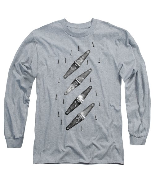 Strap Hinges And Screw Again Long Sleeve T-Shirt by YoPedro