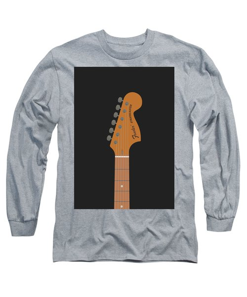 Stratocaster Guitar Long Sleeve T-Shirt