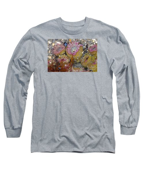 Strawberry Anemonies Long Sleeve T-Shirt