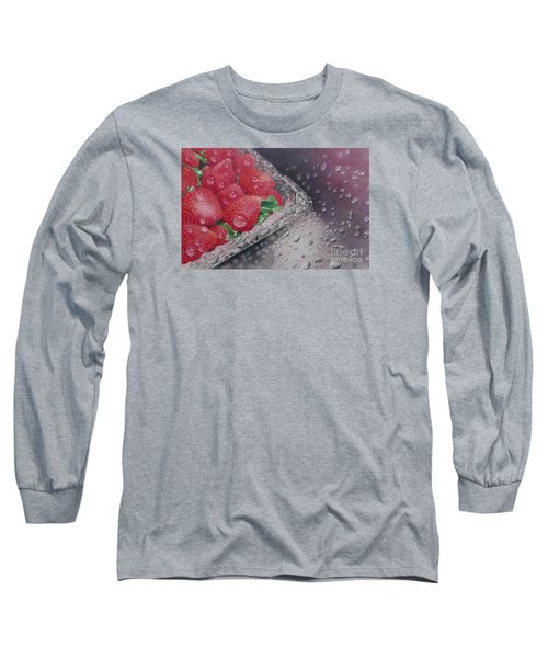 Strawberry Splash Long Sleeve T-Shirt