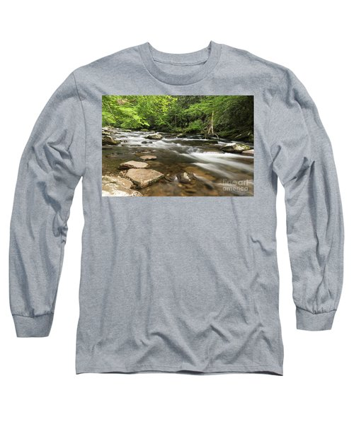 Stream In The Smokies Long Sleeve T-Shirt
