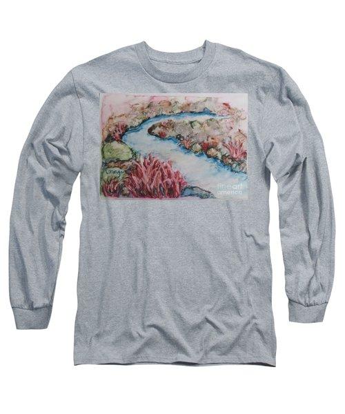Stream Of Dreams Long Sleeve T-Shirt