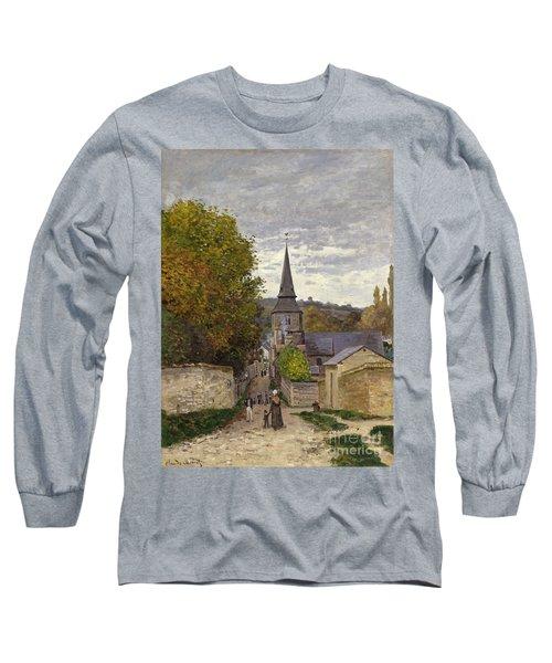 Street In Sainte Adresse Long Sleeve T-Shirt