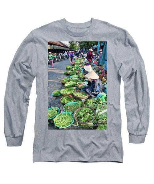 Street Market Hoi An Long Sleeve T-Shirt