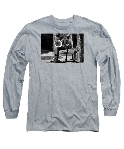 Street Music Long Sleeve T-Shirt by John S