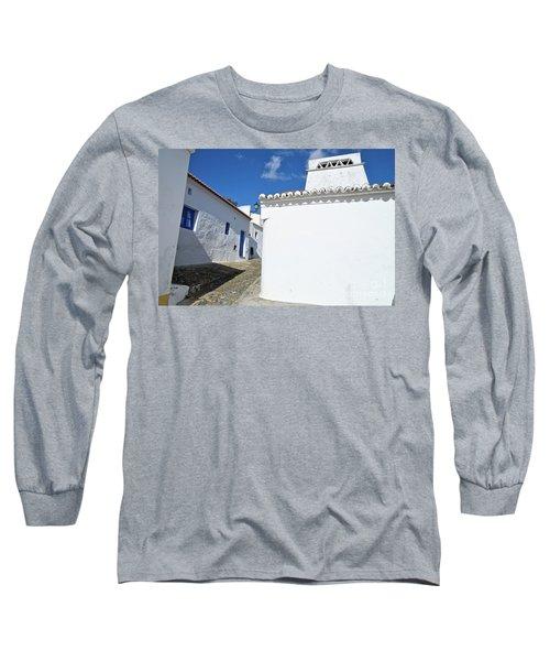 Streets Of A Medieval Castle. Alentejo Long Sleeve T-Shirt