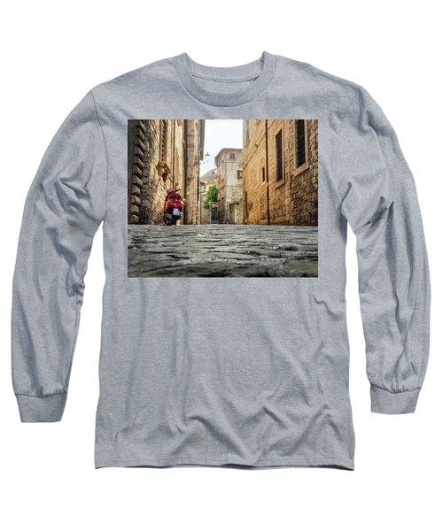 Streets Of Italy Long Sleeve T-Shirt