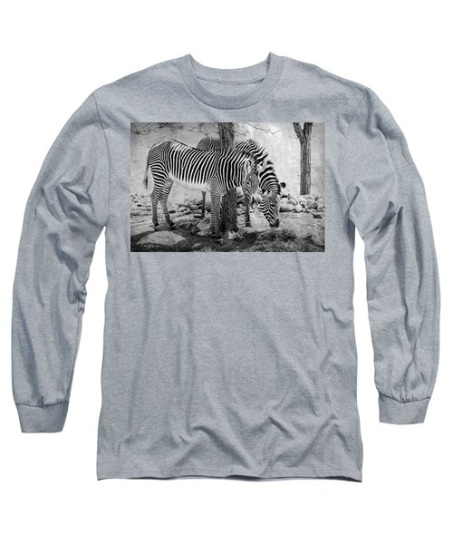 Stripped Pair Long Sleeve T-Shirt