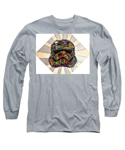 Strom Trooper Afrofuturist  Long Sleeve T-Shirt