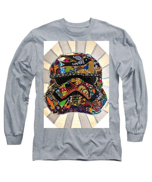 Strom Trooper Afrofuturist  Long Sleeve T-Shirt